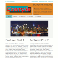 Example Business Website