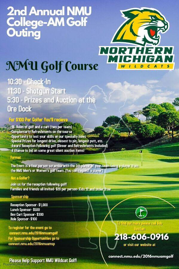 2nd Annual NMU College-AM Golf Outing